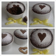 Choco-orange soufflé