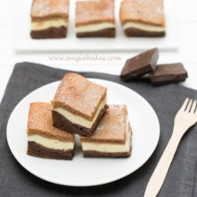 Trojvrstvové brownie